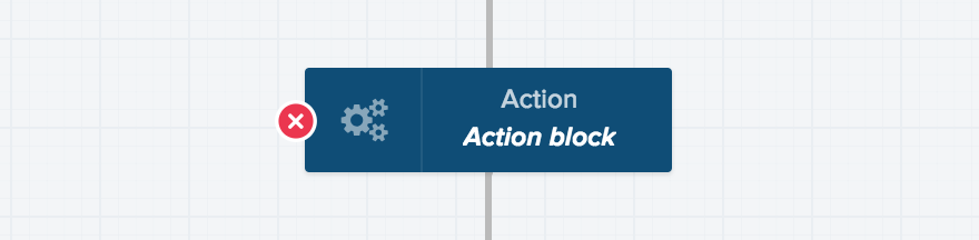 This block is not configured (red)