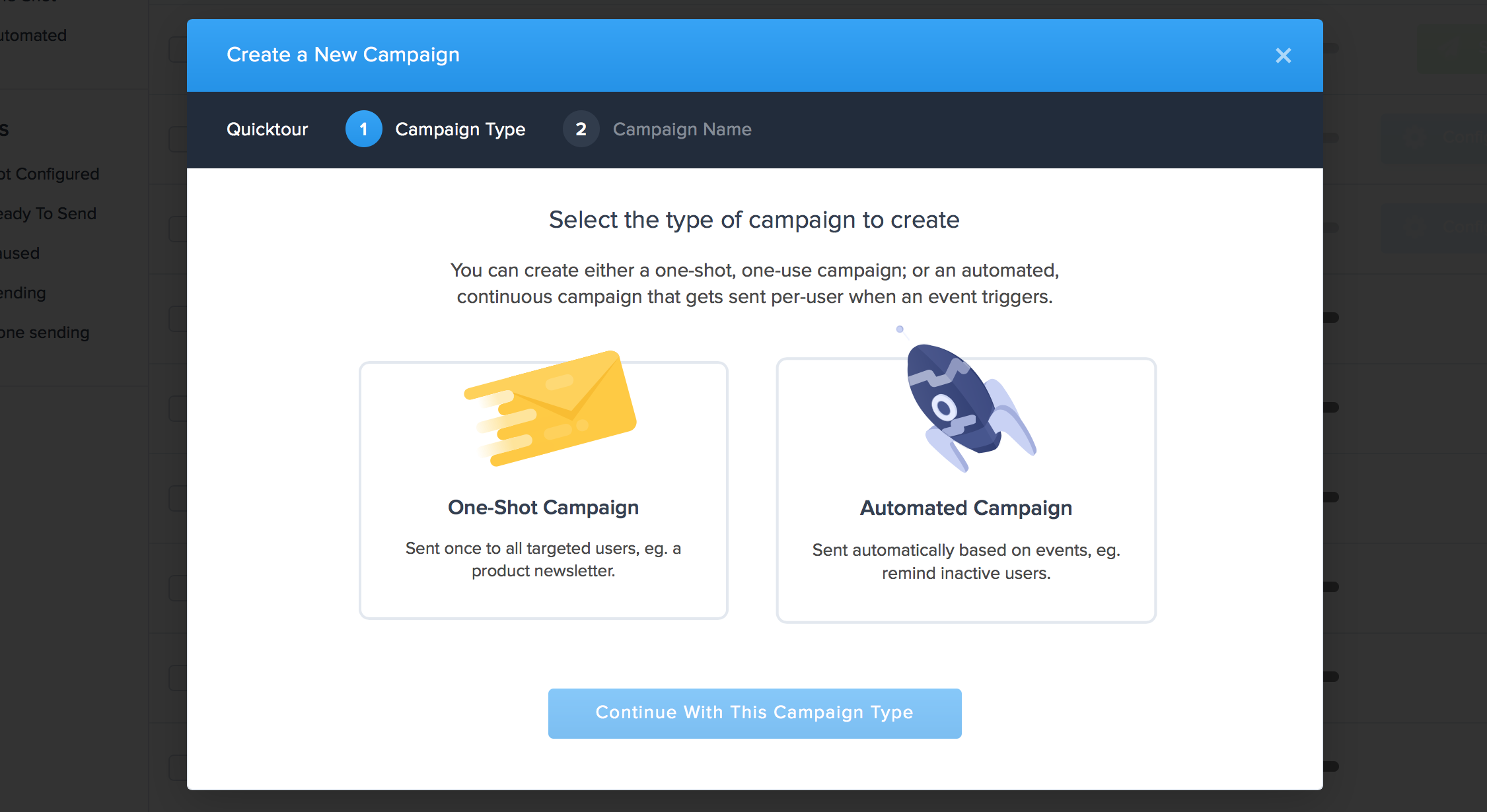 Create your Automated Campaign