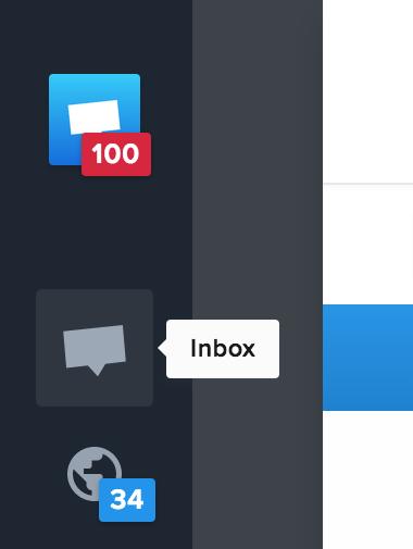 Ensure your Inbox is focused