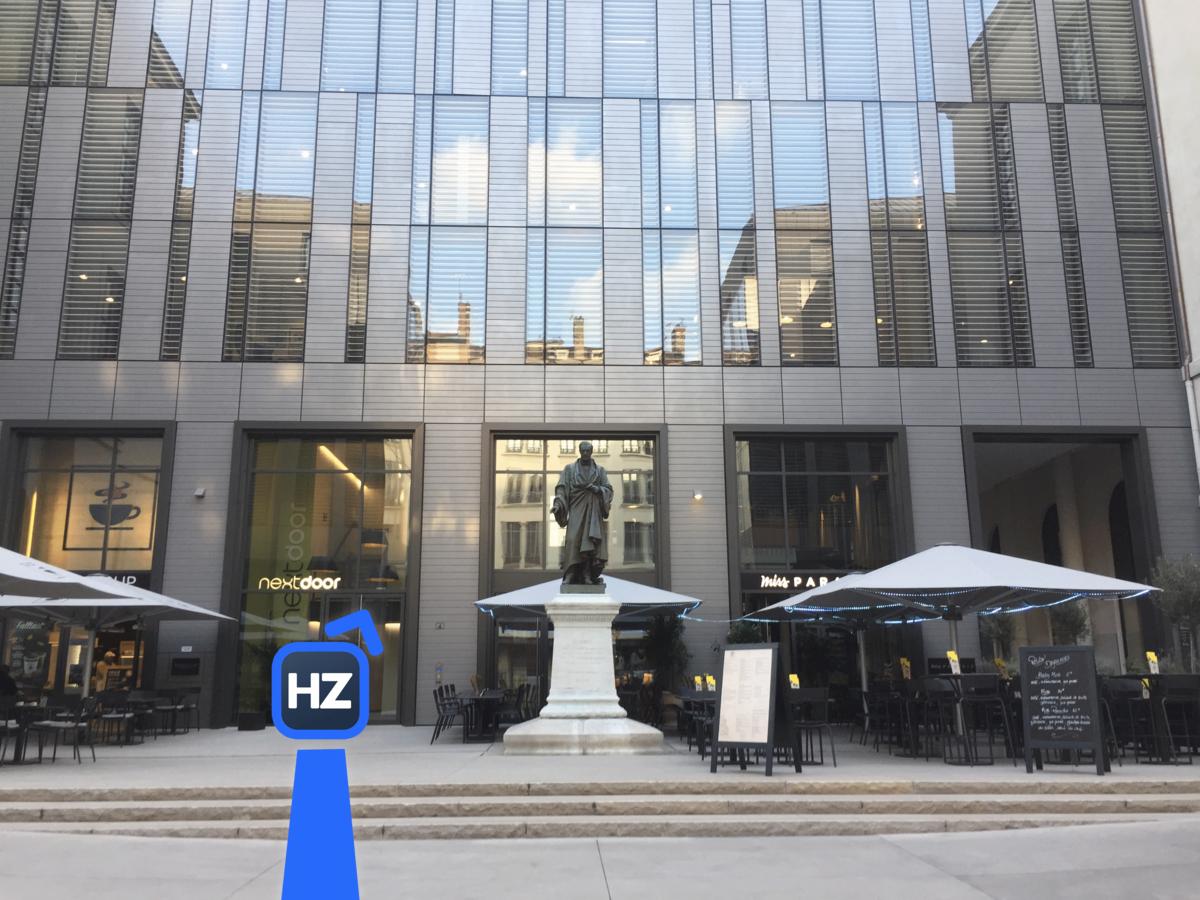 Accès au Hub lyonnais Grand Hôtel-Dieu d'HelloZack