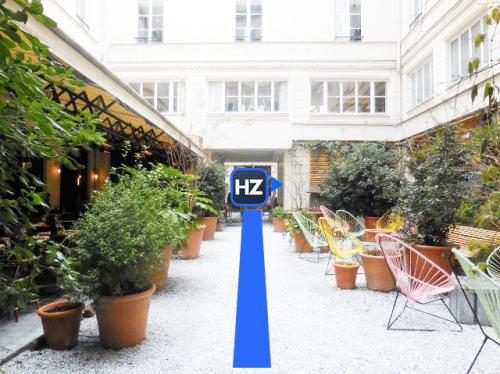 Accès au Hub parisien d'HelloZack
