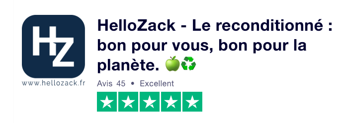 Profil HelloZack sur Trustpilot