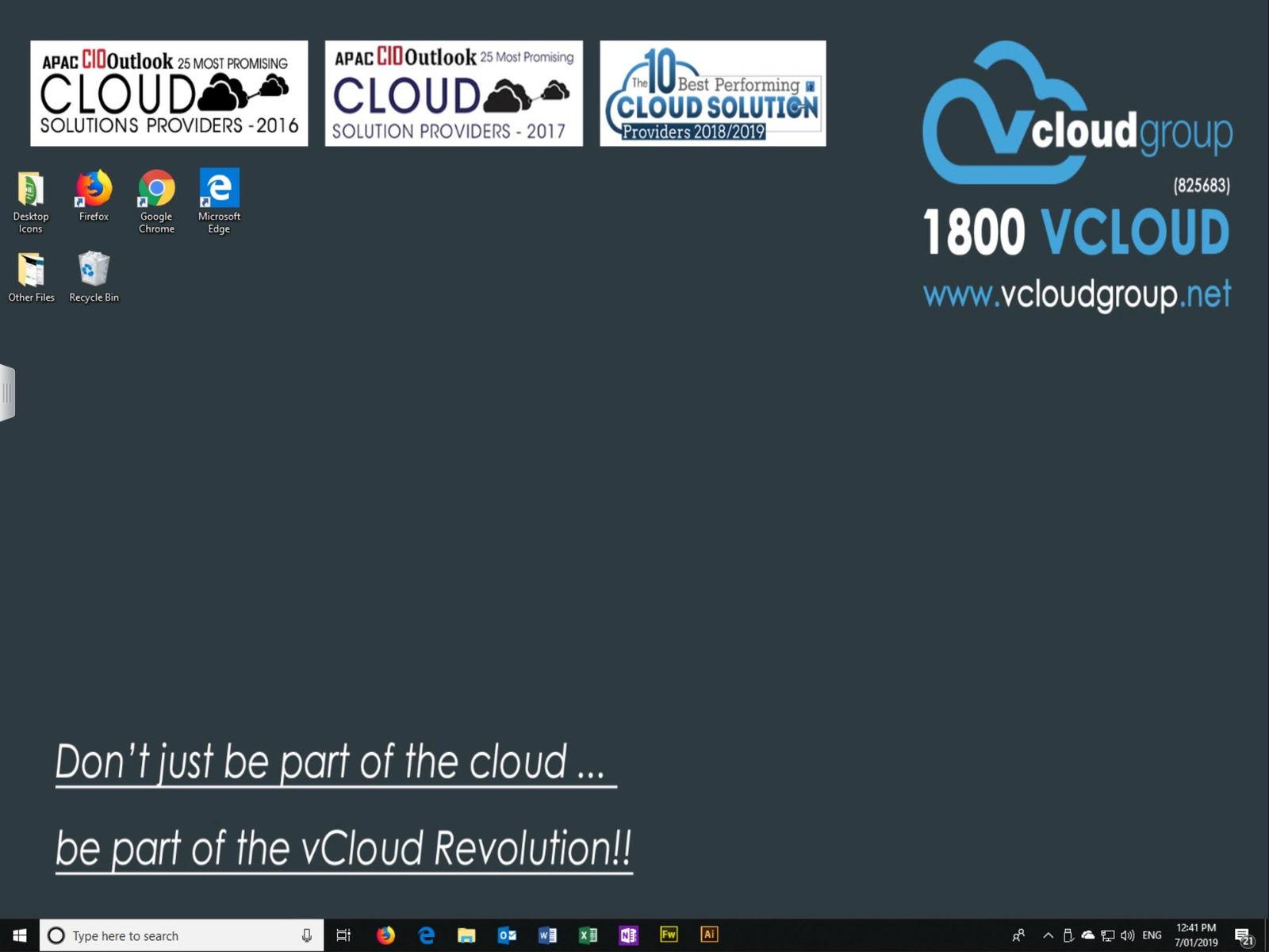 vcloud group desktop