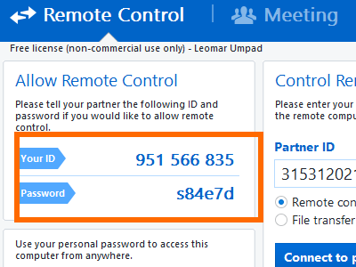 teamviewer-id-password