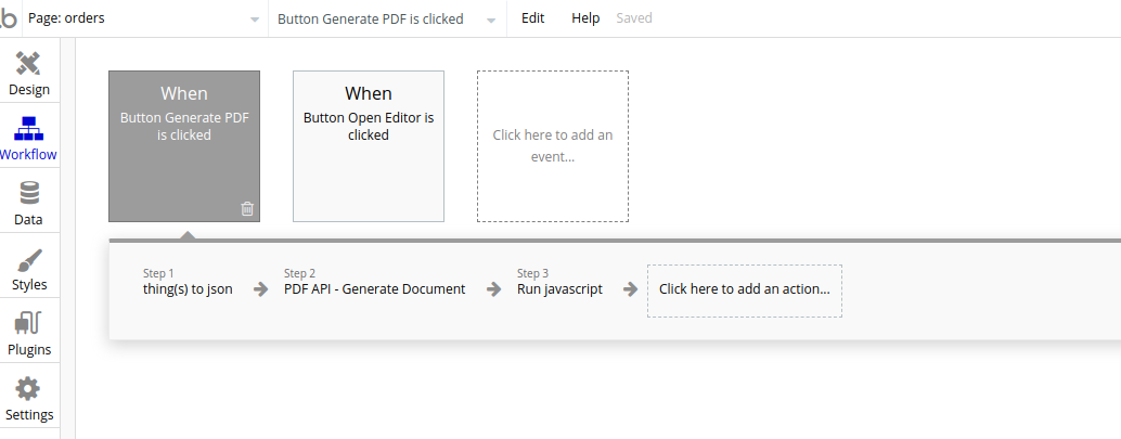 PDF API - Generate Document from Database object