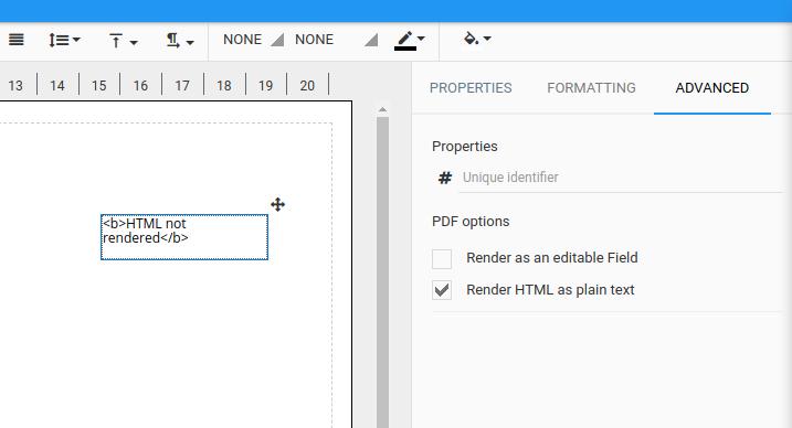 Render HTML as plain text