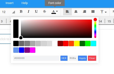 Improved color picker