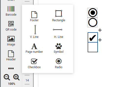Checkbox and radio components