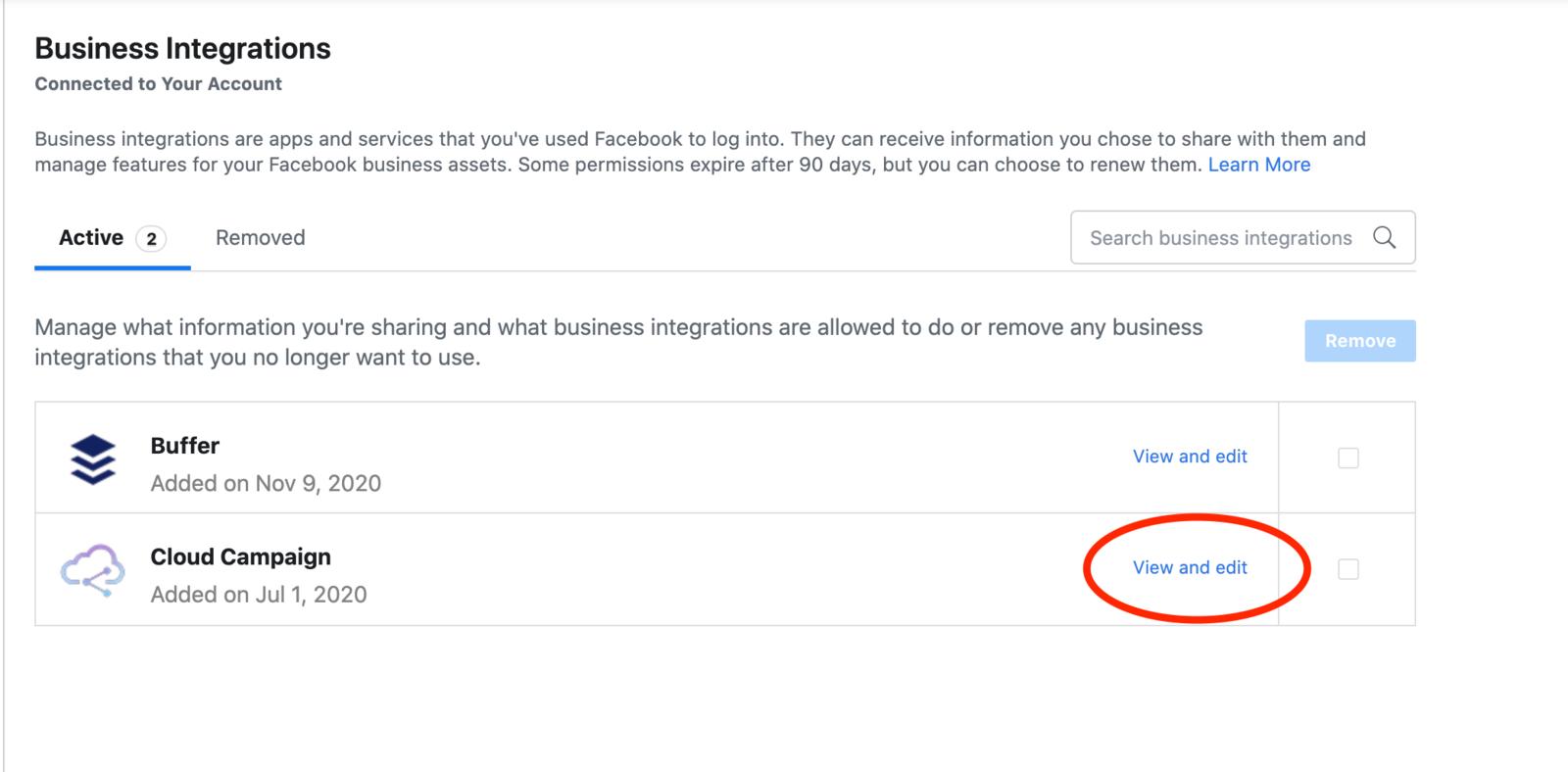 FB Permissions