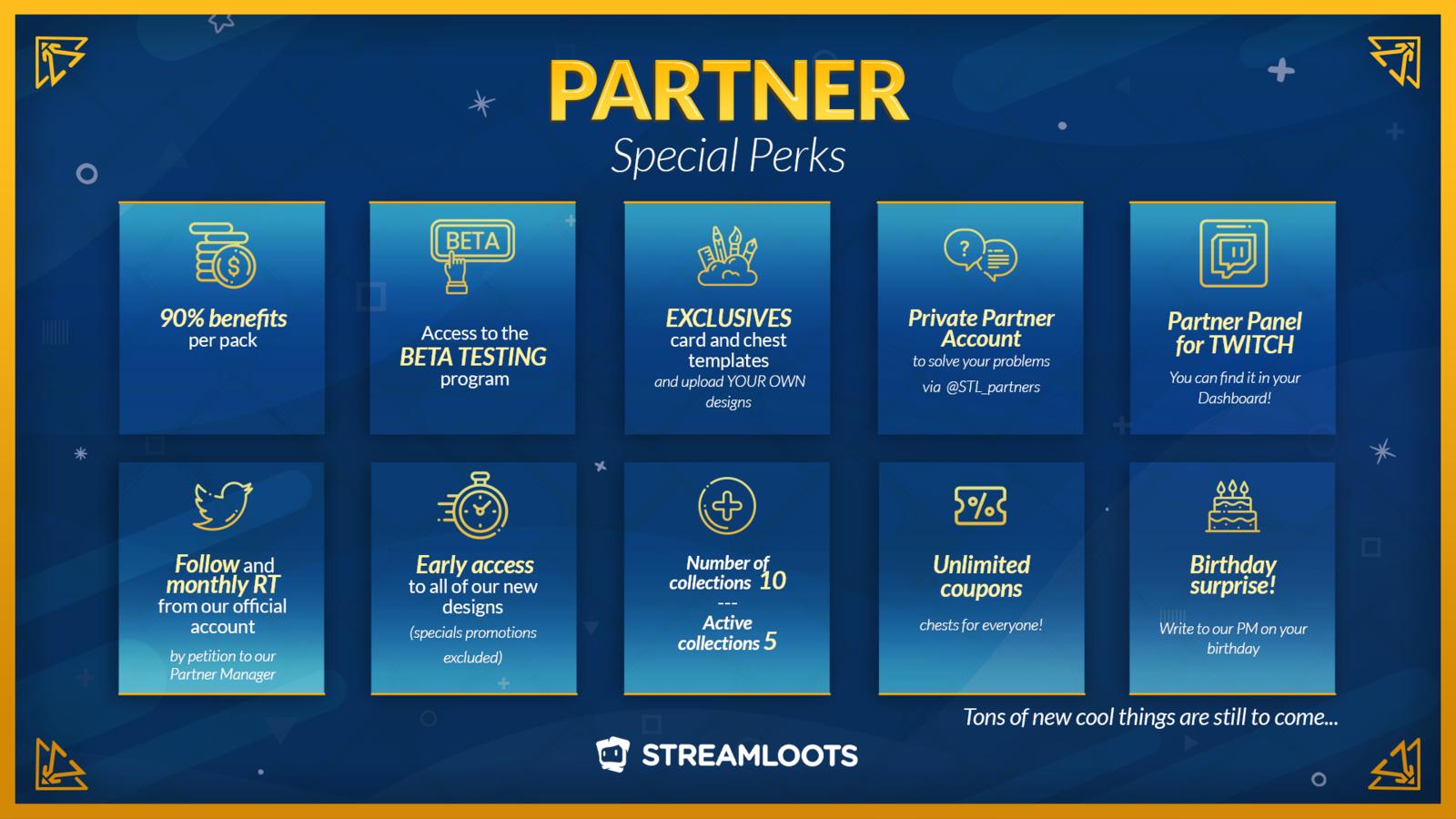 Special partner perks