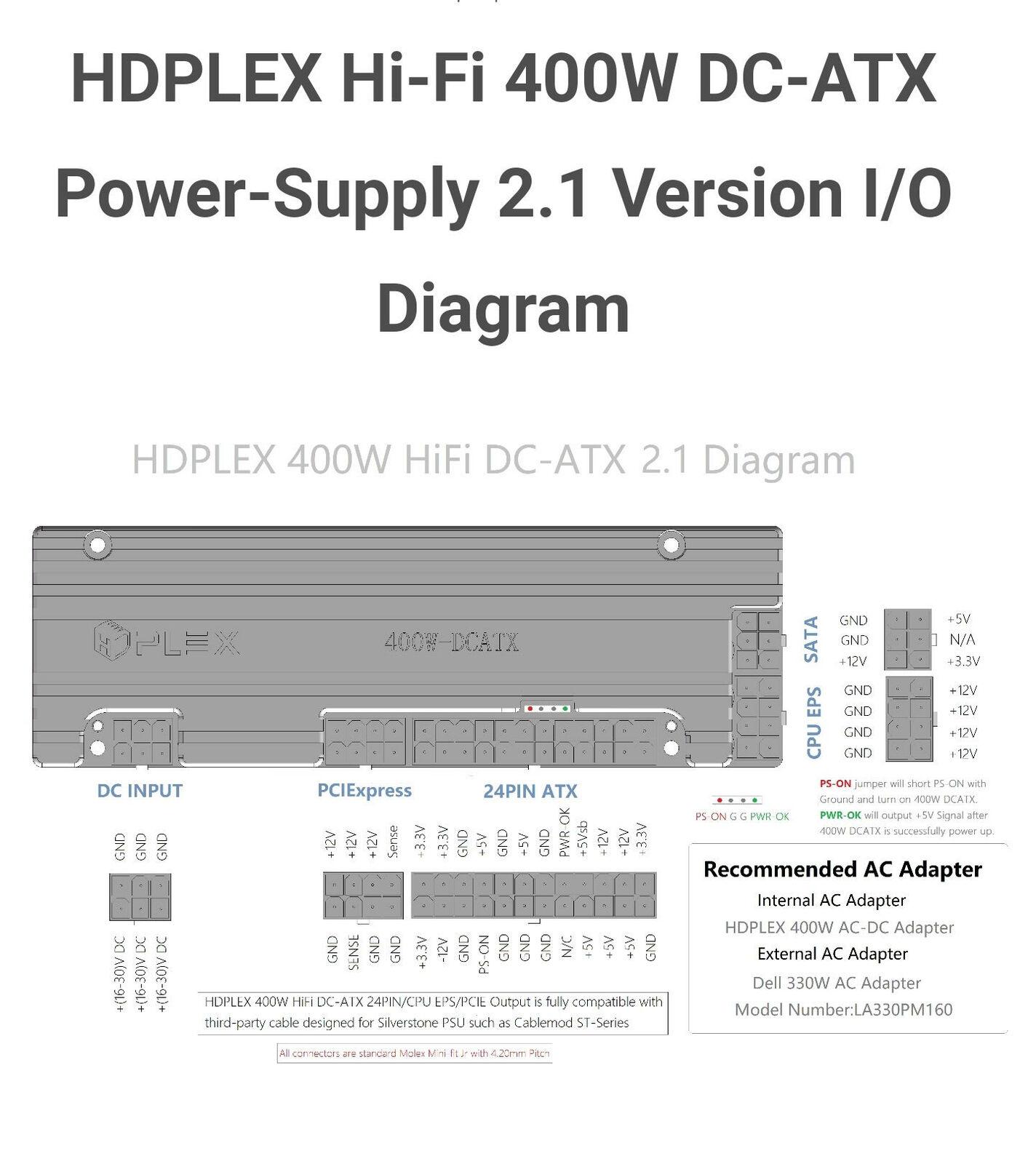 HDPLEX Hi-Fi 2.1 Version