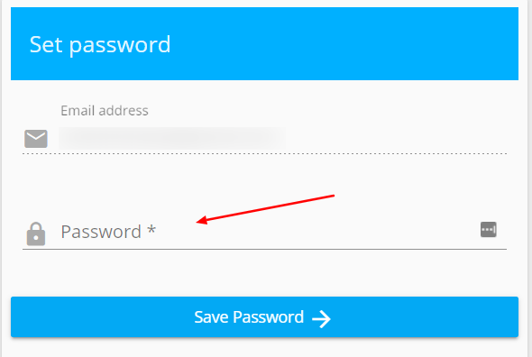 Step 3: Enter a New Password to Reset