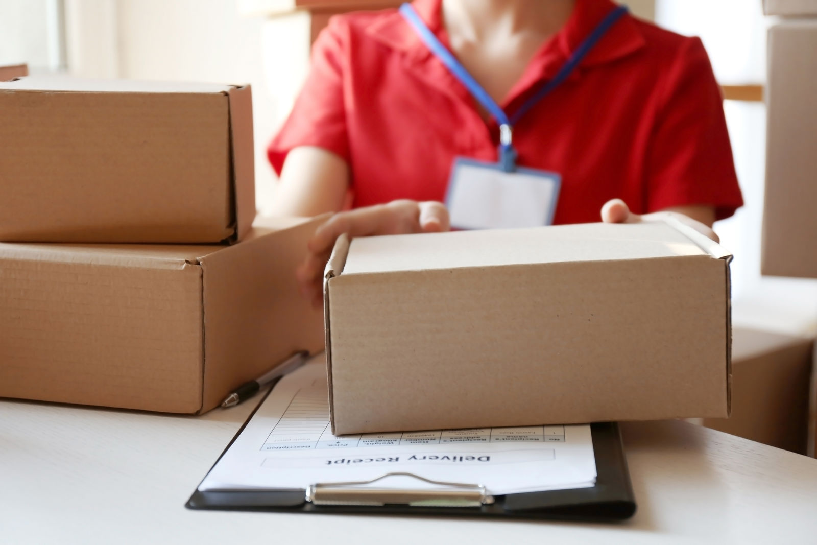 How long do packages stay with agents