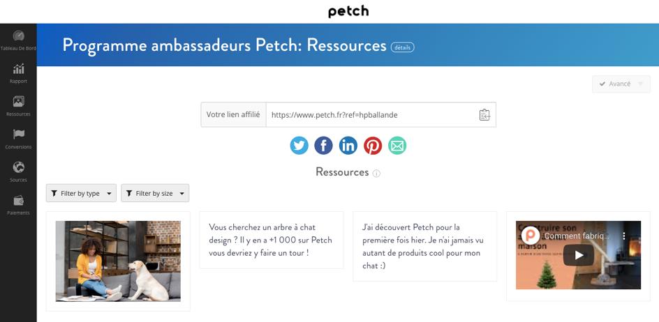 Ressources Petch