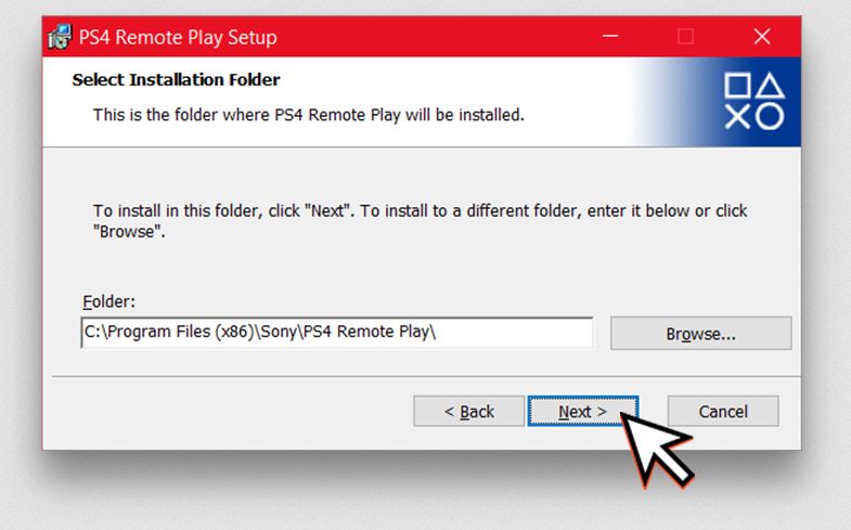 RemotePlay-SelectFolder