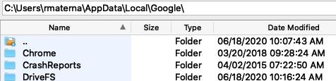 Google-Drive-Cache-File