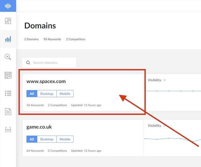How open a domain