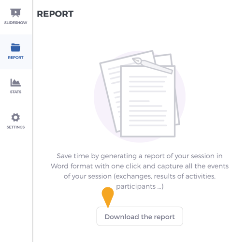 Download your Word report
