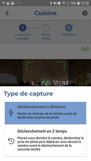 Type de capture
