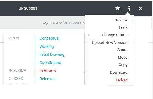New File Status