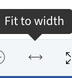Fit to width
