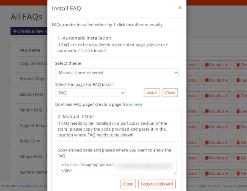 Re-install FAQ