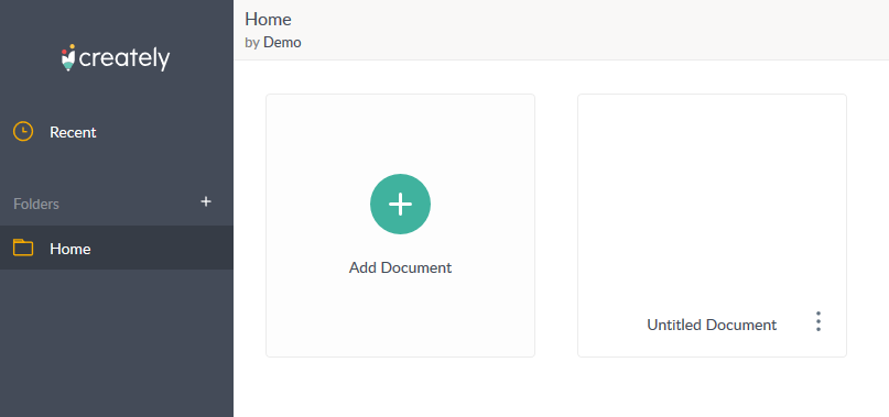 Add new Document button
