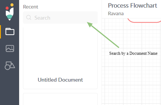 Search a Document by name