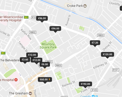 What Does The Price On The Map Mean Parkpnp Helpdesk - What does map pricing mean