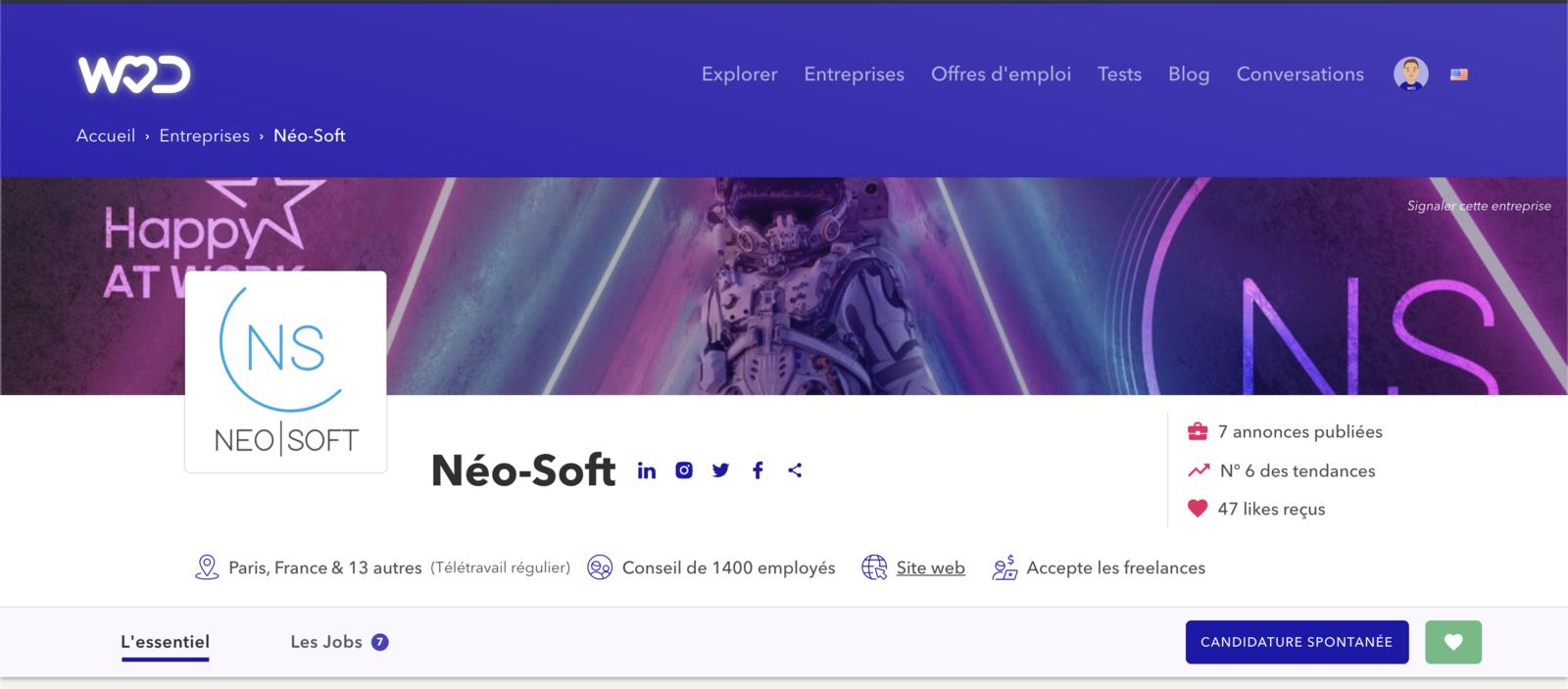 Macaron Tendance NeoSoft