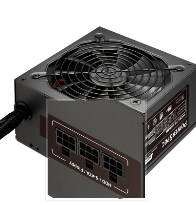 PowerSpec 650 Watt Semi-Modular
