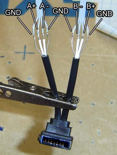 SATA Cable Pinout