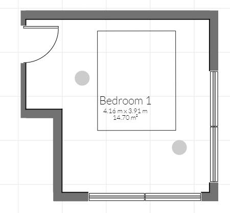 平面図でのオブジェクト表示