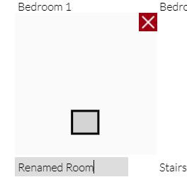 部屋の名前の編集