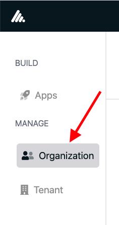 Organization Settings Location