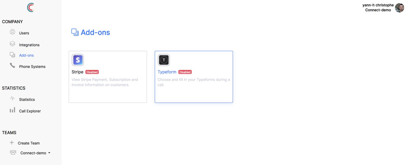 Connecter Typeform