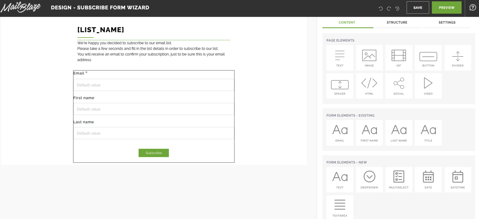 Create Your Signup Form