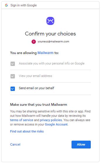 google-permission-confirmation