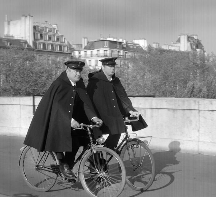 Patrouille de Police à vélo, les hirondelles.  Préfecture de Police / DR