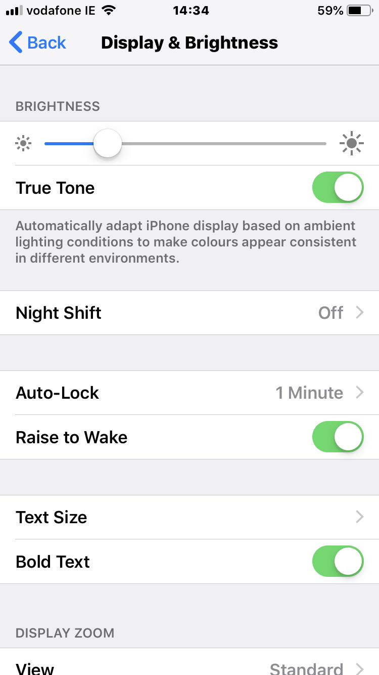 Auto-Lock is the setting that you want.