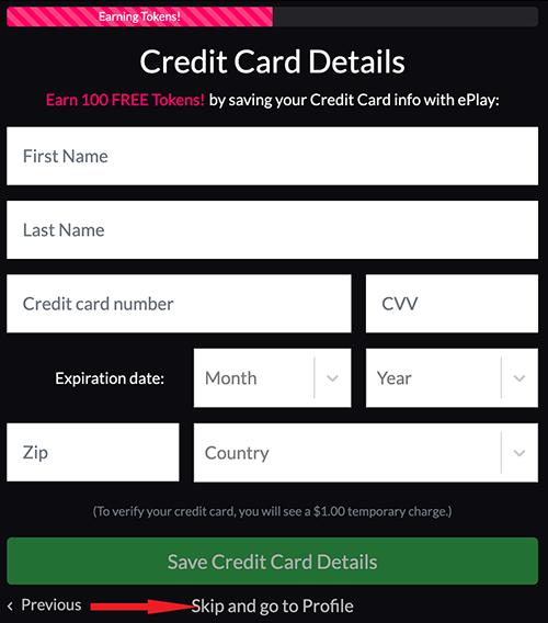 Información de tu tarjeta de crédito. No se cobrara nunca sin tu permiso.