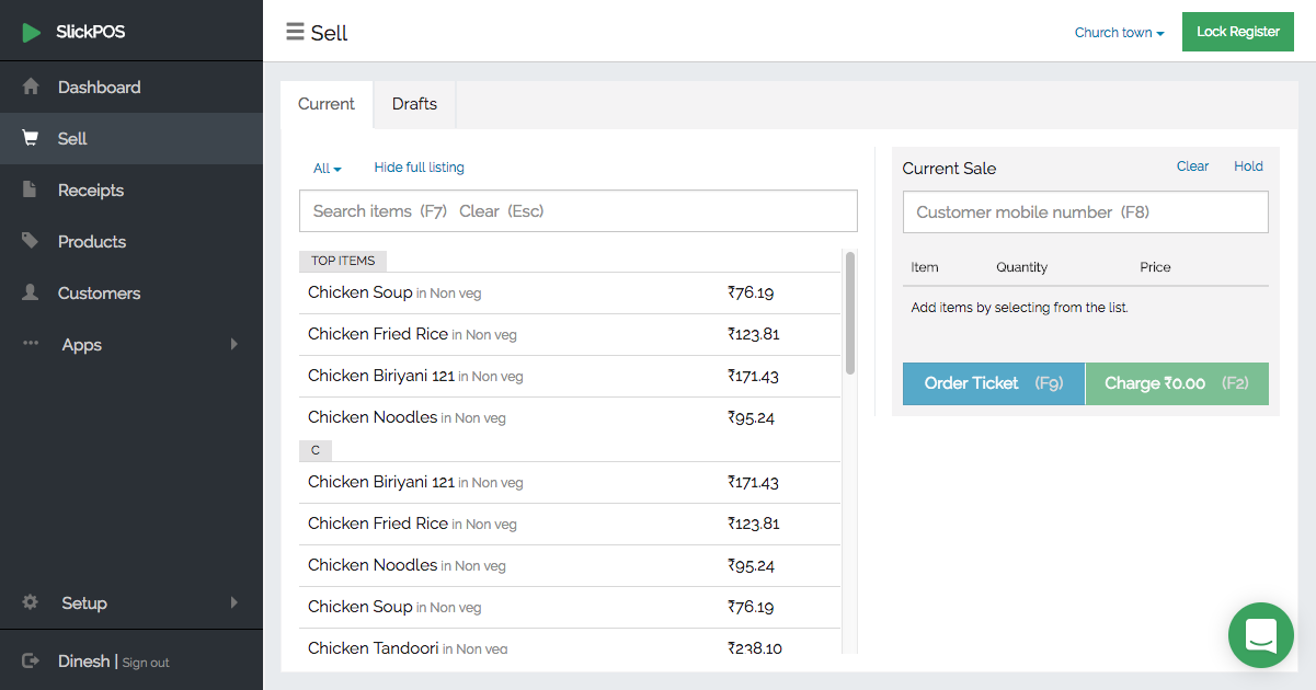 Create Kots To Manage Your Kitchen Orders Slickpos User Guide
