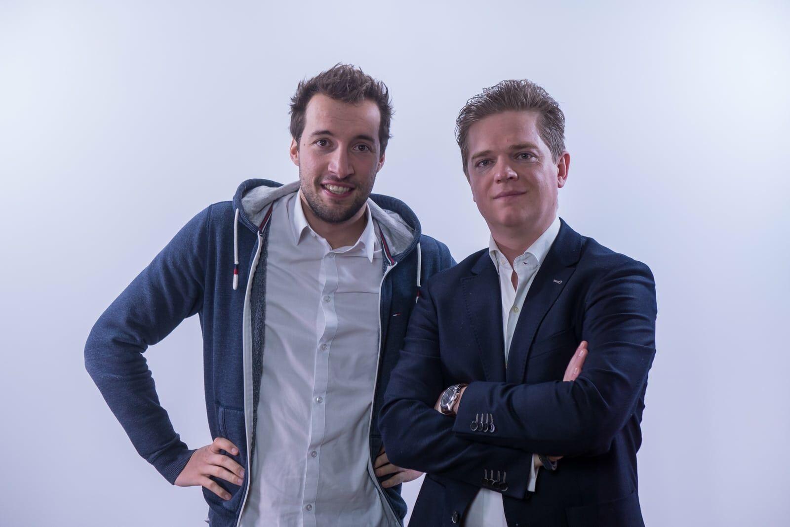 Matthias Browaeys en Aelbrecht Van Damme, oprichters van WinWinner