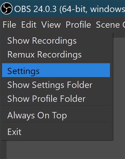En la imagen muestra donde tienes que acceder para configurar.