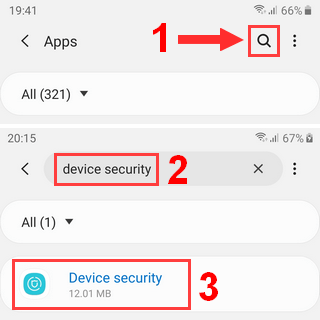 Alternative : Search for Device Security