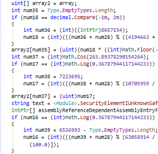 The same code but protected by NETGuard.IO