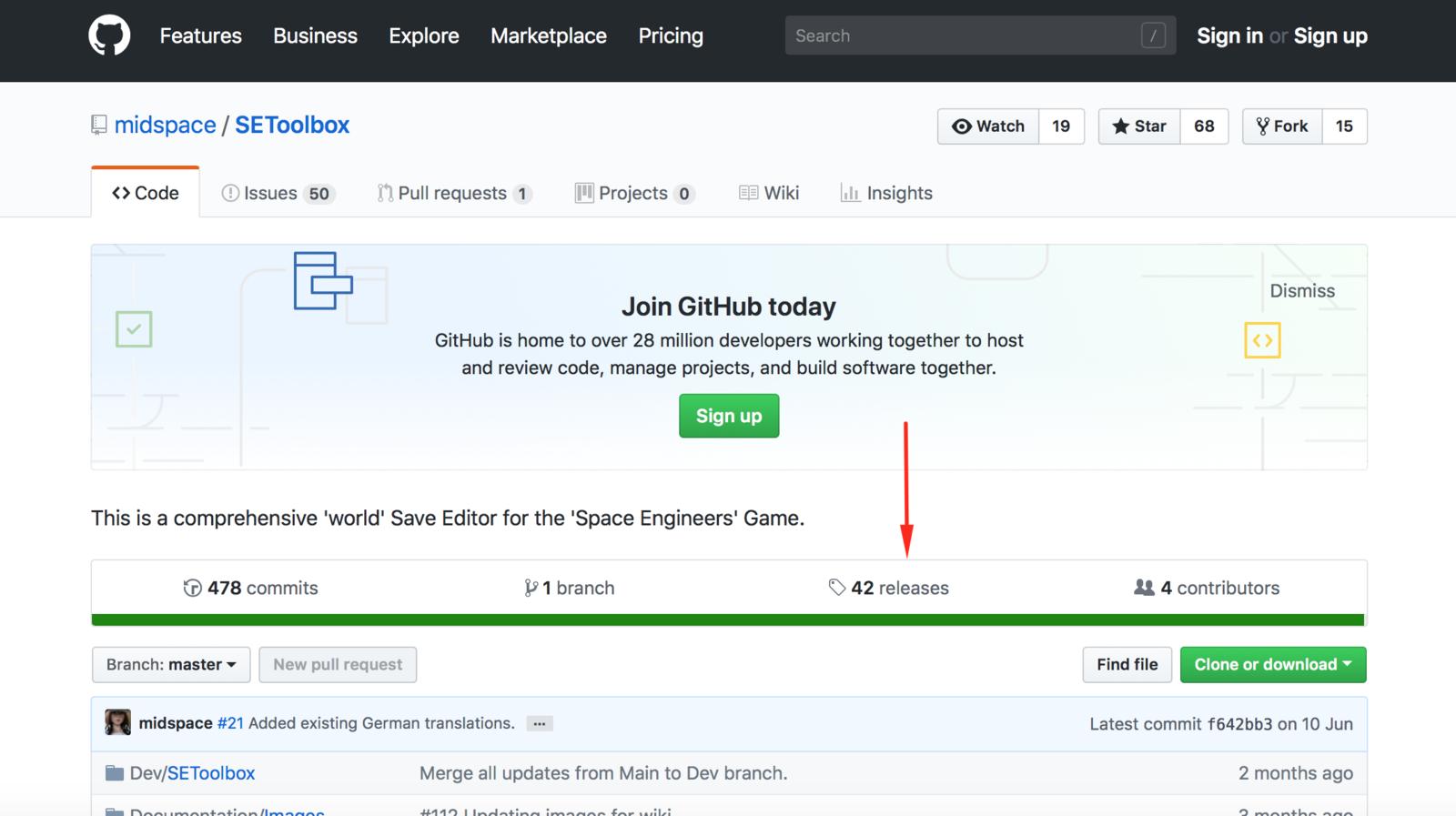 SE Toolbox on GitHub
