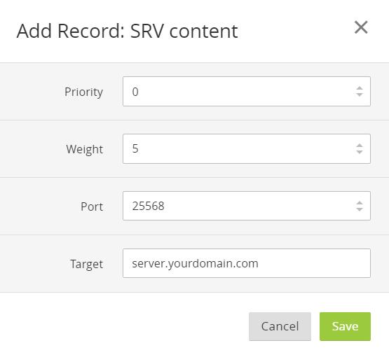 SRV Setup3