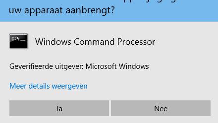 Windows als admin
