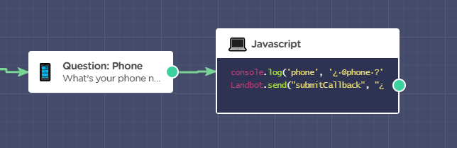 Adding Java Script to phone form